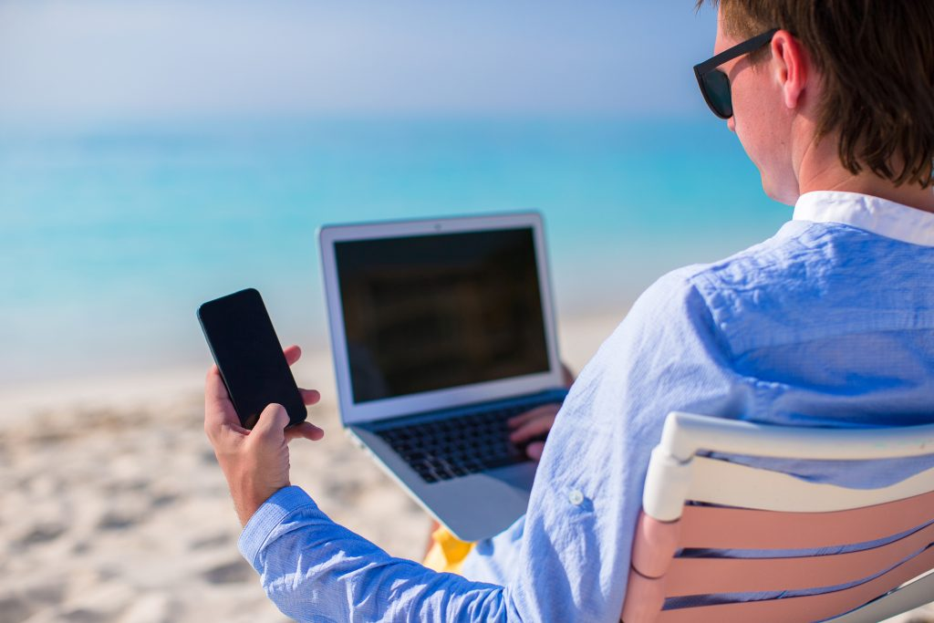 Digital Device Vacation Business Risk